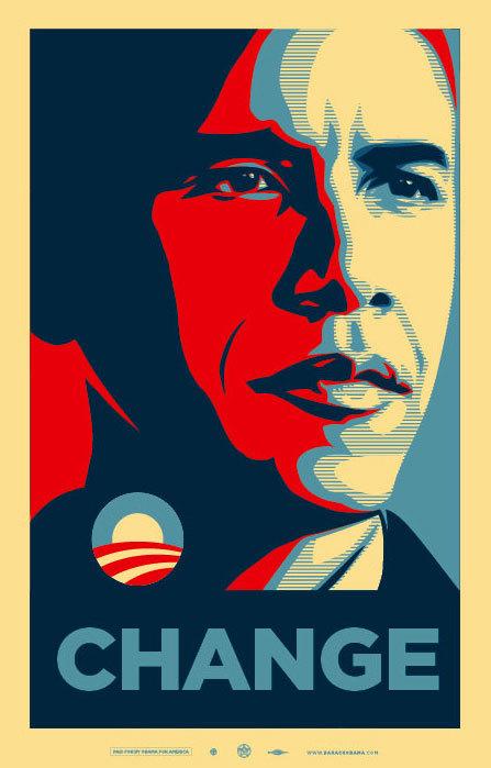 Obey Obama Change
