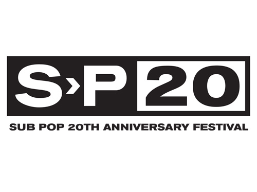 sub pop 20th anniversary festival