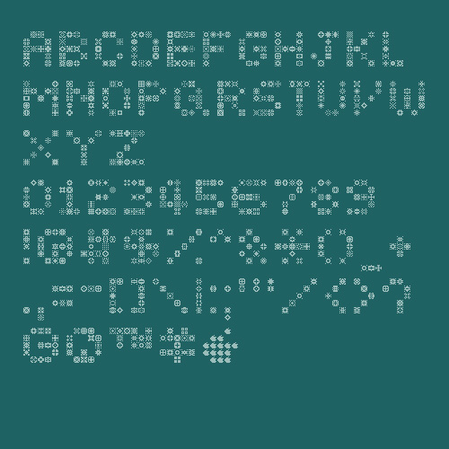 unodos font - unoz5