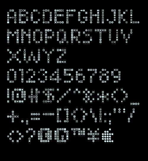 unodos font - unoz6