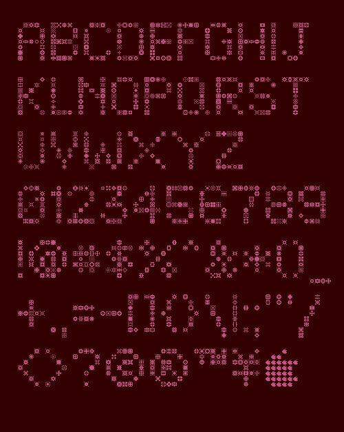 unodos font - unoz7