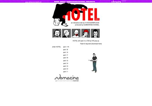 Submarine Channel - HOTEL