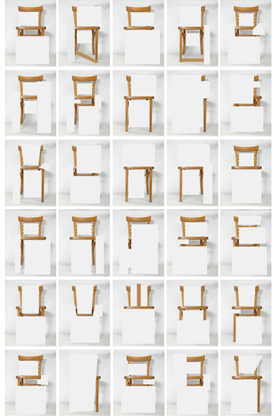 alphabet chair