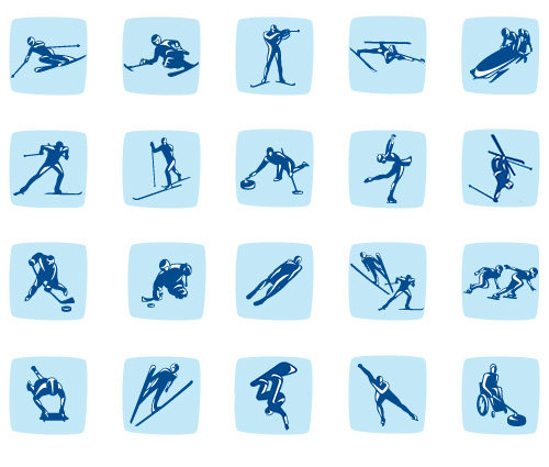 vancouver olympic pictograms