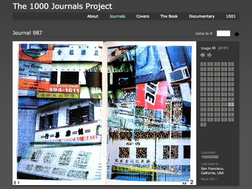 The 1000 Journals Project Website