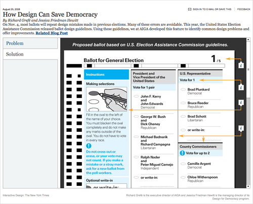 how design can save democracy solution