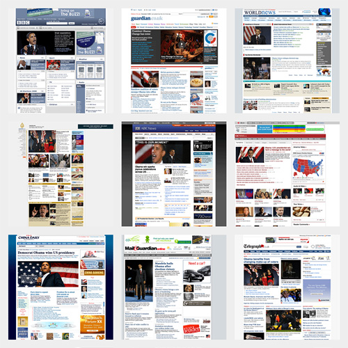Obama Election in the News (International Sources)