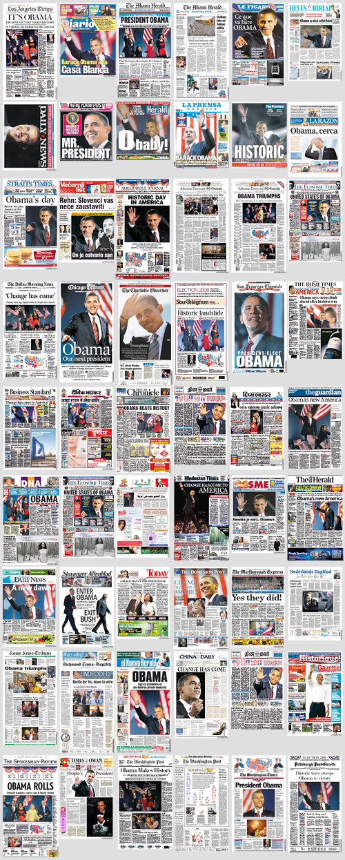 Election 2008 in the News Paper