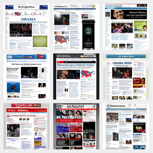 Obama Election in the News (U.S. Sources)