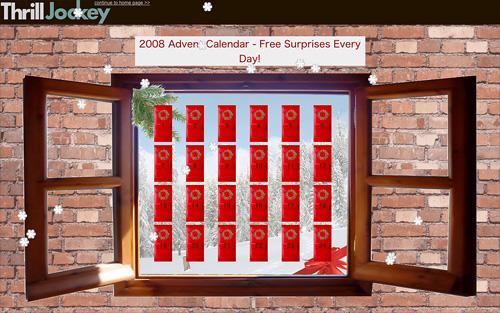 Thrill Jocky Advent Calendar