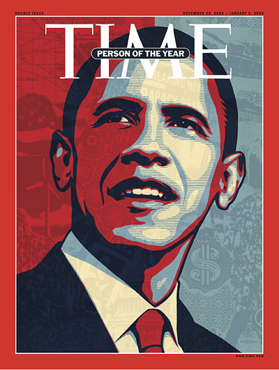 Time Cover Obama