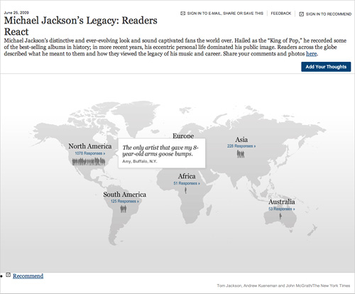Michael Jackson's Legacy: Readers React