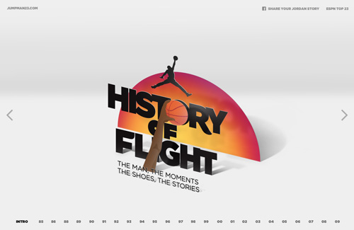 Nike - Jordan: History of Flight