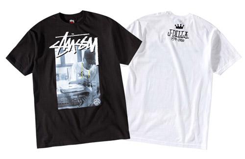 Stussy J Dilla T-shirts
