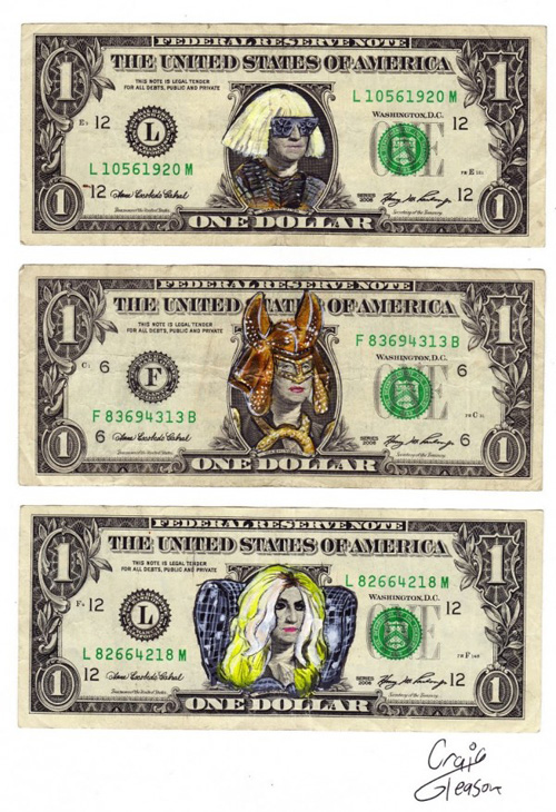 lady gaga dollar