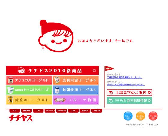 チチヤスwebsite