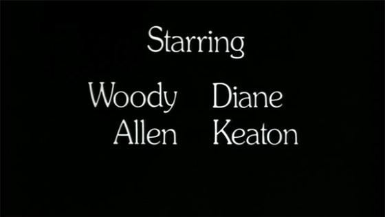 Woody Allen - Sleeper Credit