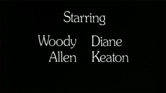 Woody Allen - Sleeper Credit