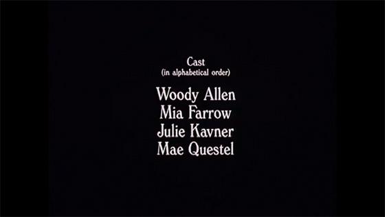 Woody Allen Credit