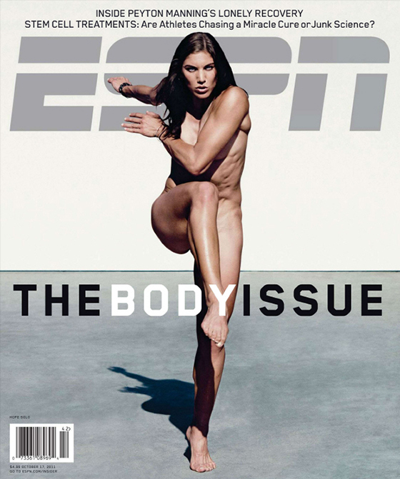ESPN Magazine Body Issue Hope Solo